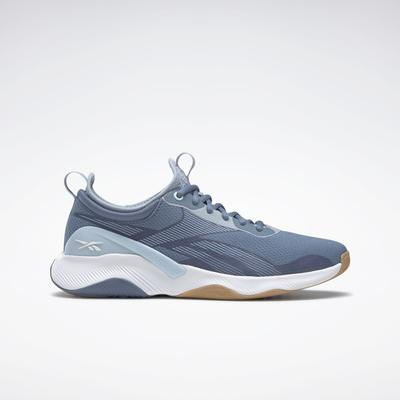Reebok Women's HIIT 2 Training Shoes in Blue Slate/Gable Grey/Ftwr White Size 9.5 - Training Shoes