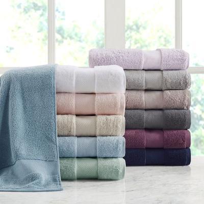 Turkish Cotton Bath Towel Set Six Piece Set, Six Piece Set, Natural