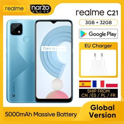 realme C21 RMX3201 Téléphone por...