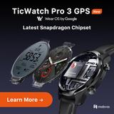 TicWatch Pro 3 GPS usure OS Smar...