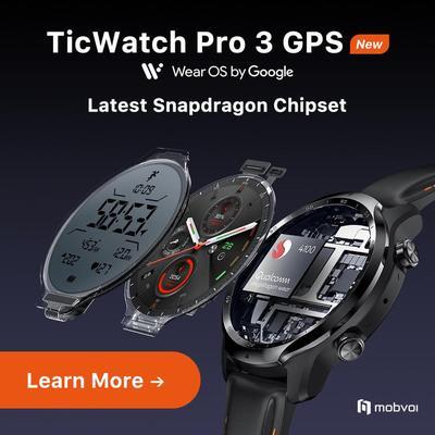 TicWatch Pro 3...