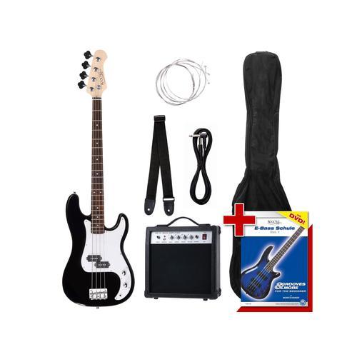 Rocktile Groovers Pack PB E-Bass Set Black