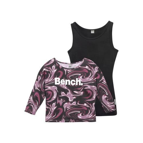 Bench. Fledermausshirt, im coolem Lagenlook bunt Mädchen Shirts Tops Fledermausshirt
