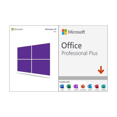 Logiciels Microsoft téléchargeables en ligne : Microsoft Windows 10 Pro