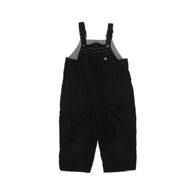 Active by Old Navy Snow Pants With Bib: Black Sporting & Activewear - Size 2Toddler