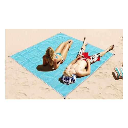 Sandfreie Strandmatte: 120 x 150 cm/1