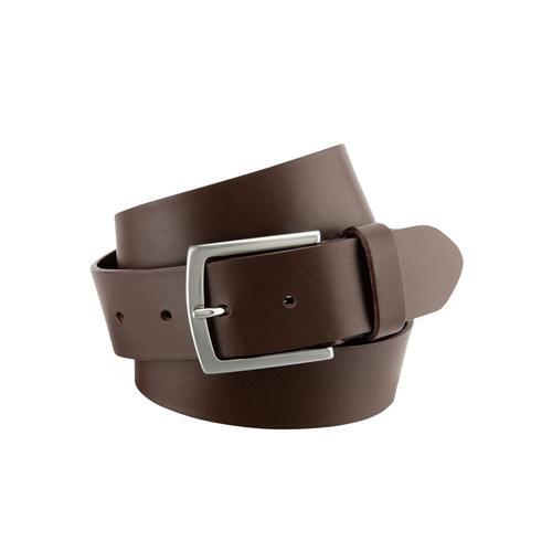 BERND GÖTZ Ledergürtel, in zeitlos männlichem Basicstyle braun Damen Ledergürtel Gürtel Accessoires