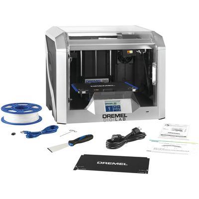 DREMEL 3D-Drucker DigiLab 3D40 FLEX, BxTxH: 52x40x41 cm silberfarben 3D Drucker Scanner Computer Zubehör