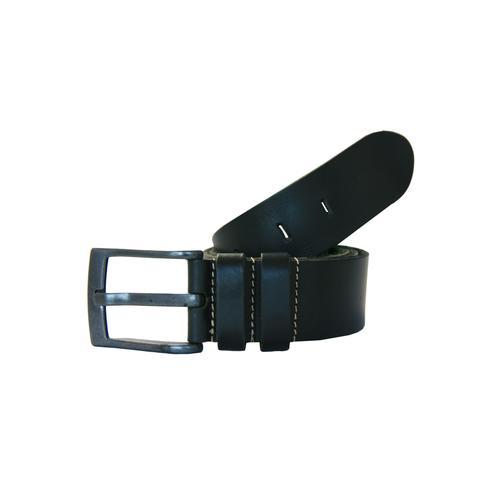 Petrol Industries Ledergürtel, mit hochwertiger Dornschließe schwarz Damen Ledergürtel Gürtel Accessoires