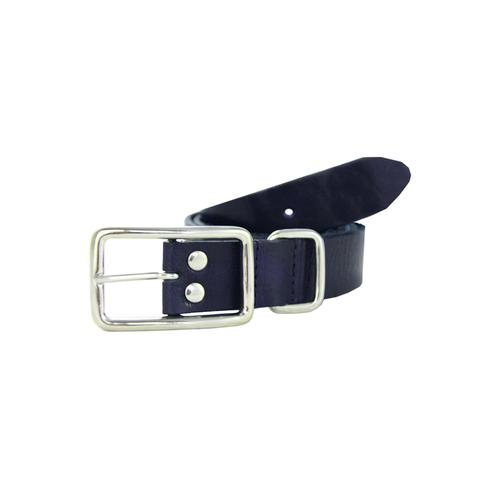 Petrol Industries Ledergürtel, mit hochwertiger Dornschließe blau Damen Ledergürtel Gürtel Accessoires