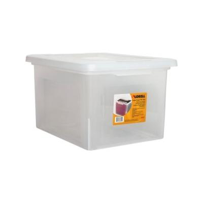 """""""Lorell File Boxes,lgl/ltr,stackable,14-1/4X18-1/8X10-7/8,4/ct,cl (Llr68925Ct)"""""""