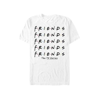 Fifth Sun™ White F.R.I.E.N.D.S Pile Graphic T-Shirt