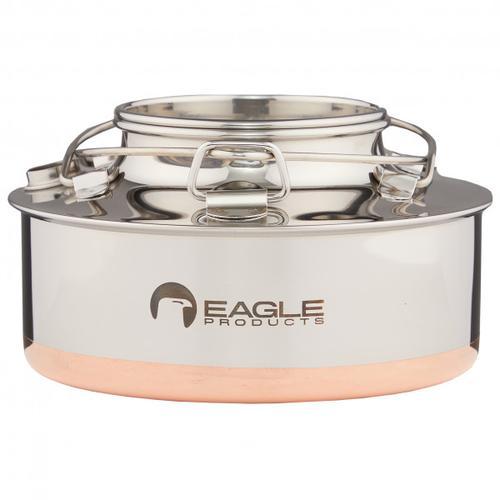 Eagle Products - Kesselkanne - Topf Gr 0,7 l weiß/grau
