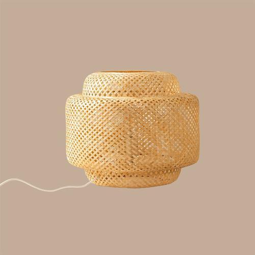 Lexie Bambus Tischlampe Bambus Natürlich - Natürlich - Sklum