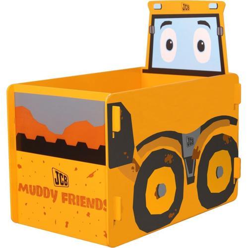 Muddy Friends Joey Spielzeugkiste Spielzeugbox gelb