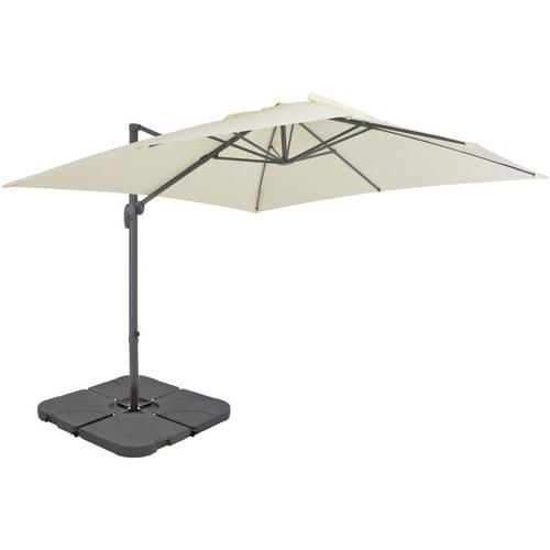 Sonnenschirm mit Schirmständer Sand - Youthup