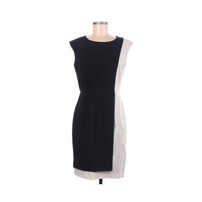Black Saks Fifth Avenue Casual Dress - Sheath: Black Solid Dresses - Used - Size 6