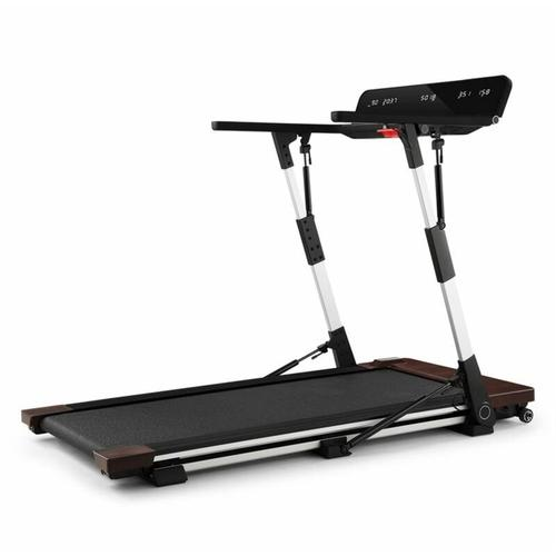 OUTRUN 2XC Laufband 1-12km/h LED-Display Holzdekor