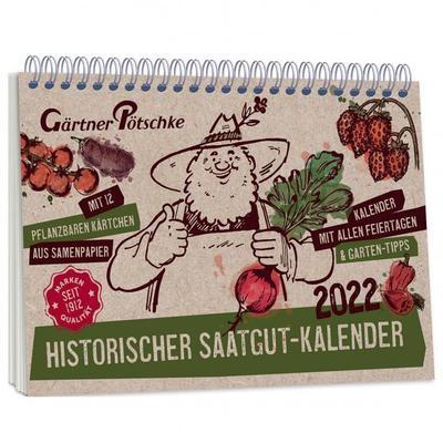 Einpflanzbarer Kalender - Historisches Saatgut