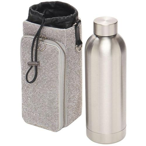 Kara Wasserflaschentasche Aus Kristallmesh