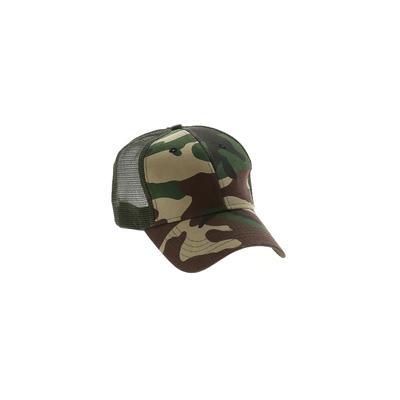 Assorted Brands Baseball Cap: Green Accessories