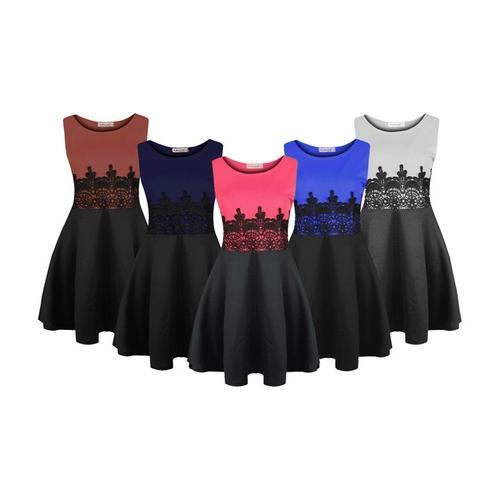 Kleid: Weinrot / S-M
