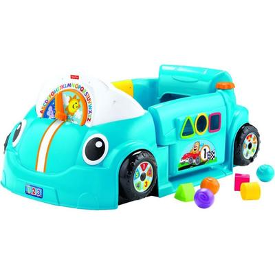 Fisher-Price Laugh & Learn Crawl Around Car, Blue - FPDJD09