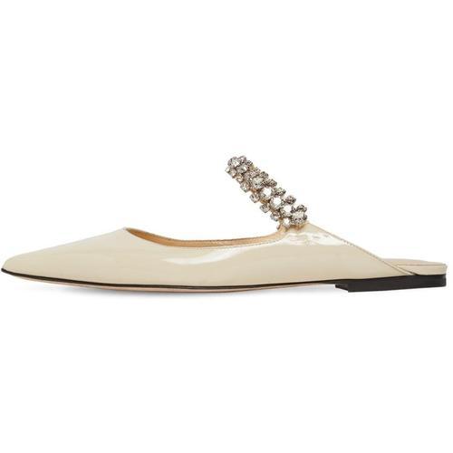 """""""Jimmy Choo 10mm Schuhe Aus Lackleder Mit Kristallen """"""""bing"""""""""""""""