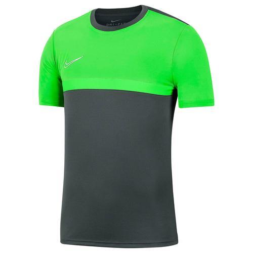 Nike Kinder Fußballshirt Kurzarm, grau/grün, Gr. 158-170