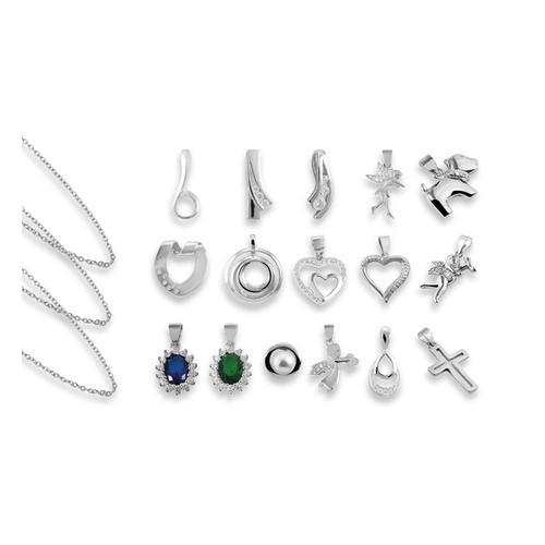 Schmuck : Halskette 42 cm + Halskette 50 cm
