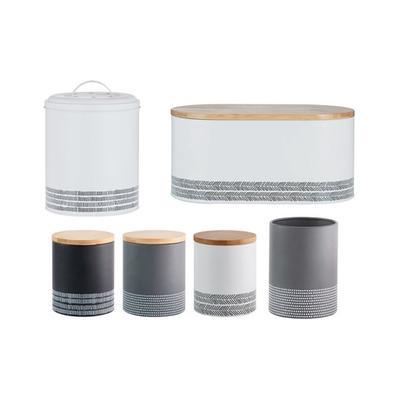 Typhoon Monochrome Storage Set: Storage Jars