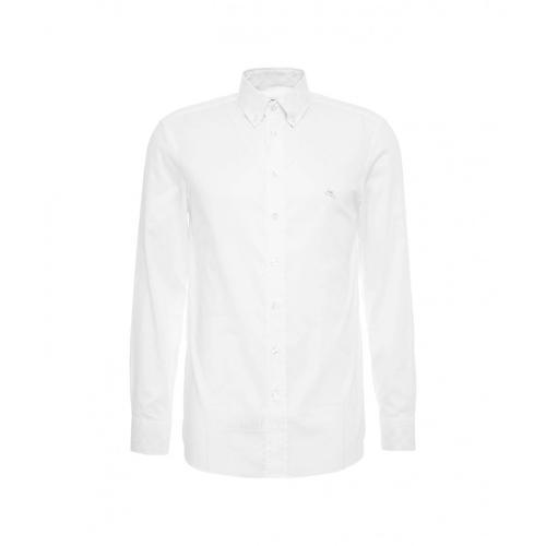 Etro Herren Hemd mit Logostickerei Weiß