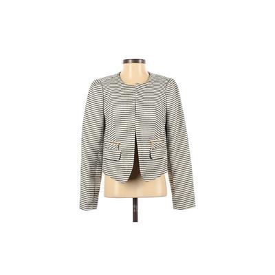 Ann Taylor LOFT Jacket: Ivory Pr...