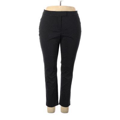 Lane Bryant Outlet Dress Pants - High Rise: Black Bottoms - Size 20 Plus
