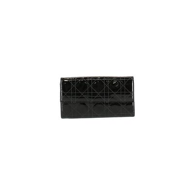 Christian Dior - Christian Dior Wallet: Black Solid Bags