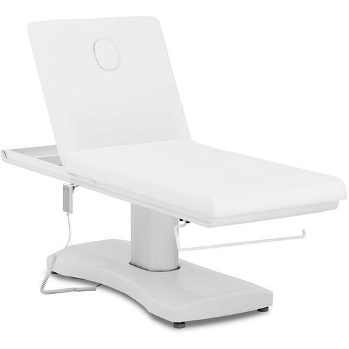 Massageliege Massagetisch Massagebank Therapieliege Elektrisch Weiß 175 kg