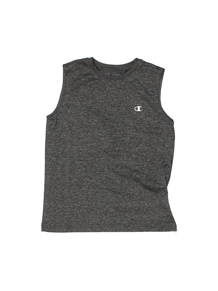 Champion Active Tank Top: Gray Sporting & Activewear - Size Medium