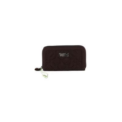 Vera Bradley - Vera Bradley Wallet: Brown Solid Bags