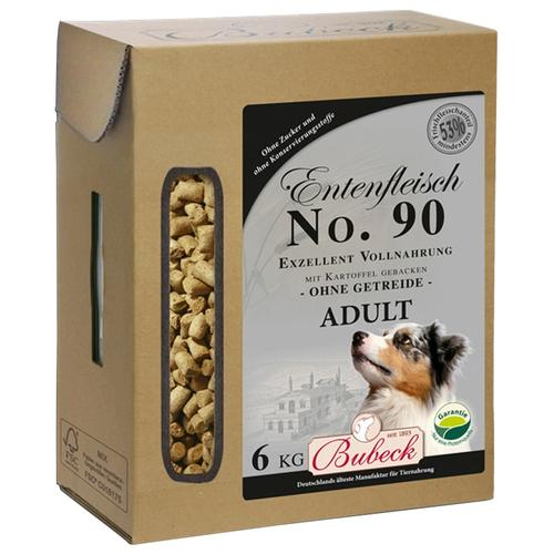 Bubeck Trockenfutter Ente und Kartoffel Mix, (1), 6 kg braun Hundefutter Hund Tierbedarf