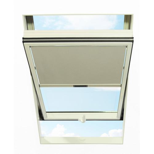 RORO Türen & Fenster Dachfensterrollo, Lichtschutz grau Dachfensterrollo Dachfensterrollos Rollos Jalousien