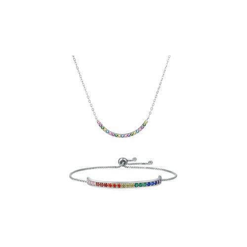 Schmuck mit Swarovski®-Kristallen: 1x Halskette