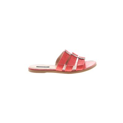 Patrizia Pepe Sandals: Pink Solid Shoes - Size 40