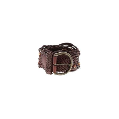 Unbranded - Leather Belt: Brown Solid Accessories - Size Small