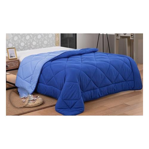 Bettdecke: 200 x 200 cm/Blau