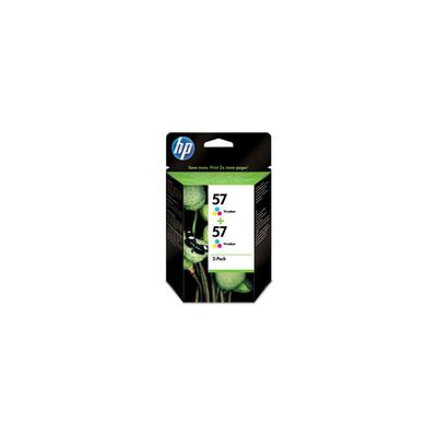 Hewlett Packard Pack de 2 cartouches C6657AE DeskJet 450 5652 psc-7150 C9503AE#241 color 2*17ml