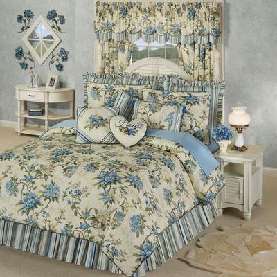 Marquette Comforter Set Buttercream, California King, Buttercream