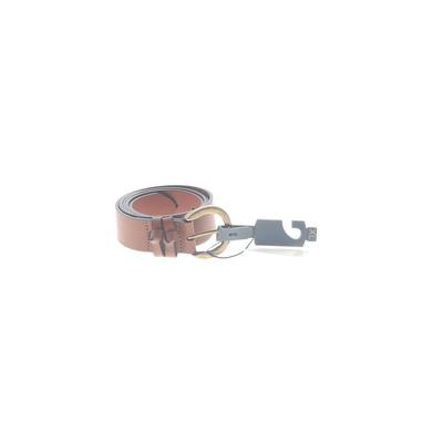 Melrose and Market - Melrose and Market Leather Belt: Brown Solid Accessories - Size X-Large