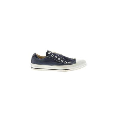 Converse Sneakers: Blue Solid Shoes - Size 6 1/2