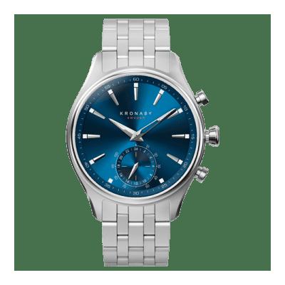 Kronaby - Sekel 41 Mm Hybrid Smartwatch Blue Steel