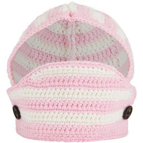 Miu Miu Hut aus gehäkelter Wolle